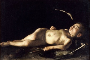 Carvaggio, 1608 Sleeping Cupid
