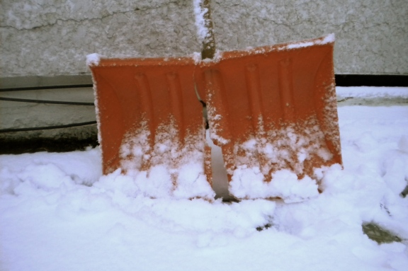 my shovel gave up