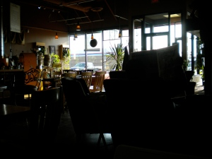 a local coffee shop
