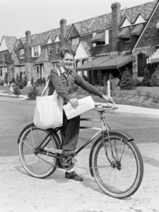 h-armstrong-roberts-paperboy-delivering-newspapers